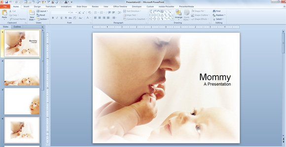 mommy powerpoint templates baby mommy powerpoint templates toneelgroepblik Choice Image
