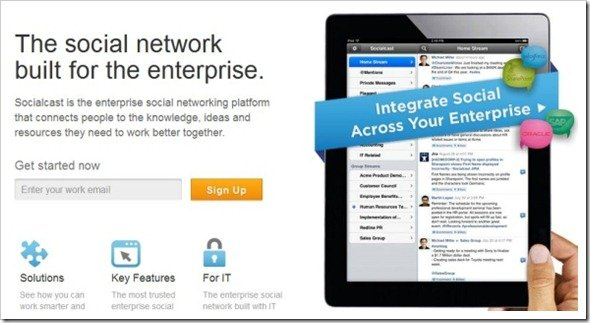 Enterprise Social Networking & Collaboration Platform  Socialcast
