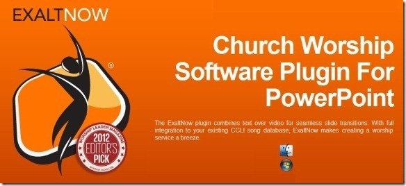 Create church worship powerpoint presentations with exaltnow exaltnow powerpoint church worship software toneelgroepblik Image collections