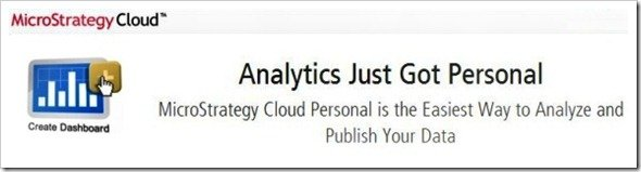 MicroStrategy Cloud Personal