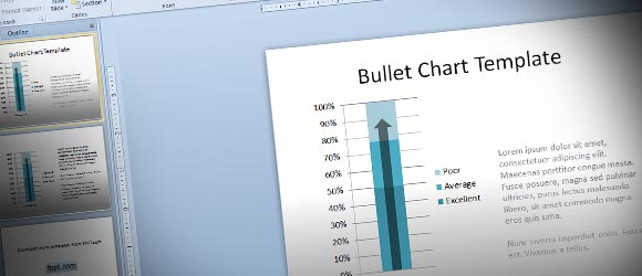 Using Bullet Charts in PowerPoint to Replace Gauges