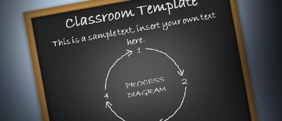 Free educational powerpoint theme for presentations in the classroom toneelgroepblik