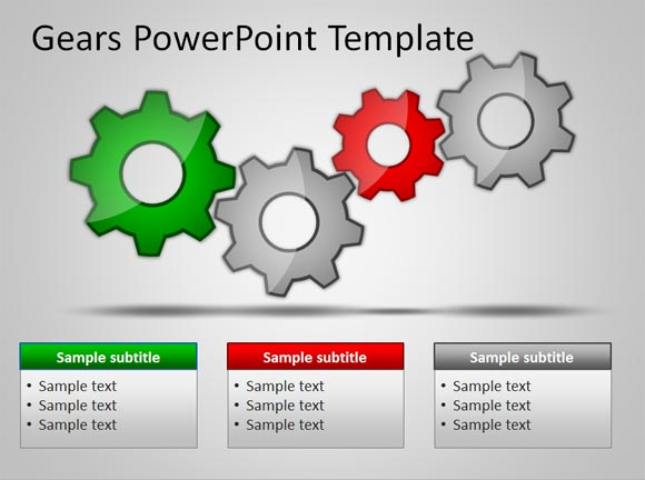 download free gears powerpoint templates for presentations, Powerpoint templates