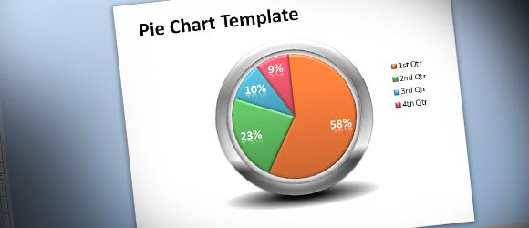 Free creative pie chart template for powerpoint presentations creative pie chart template toneelgroepblik Choice Image