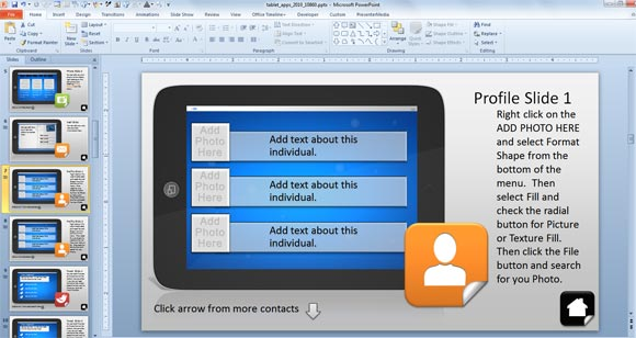 using interactive powerpoint presentations with tablet interactive, Modern powerpoint