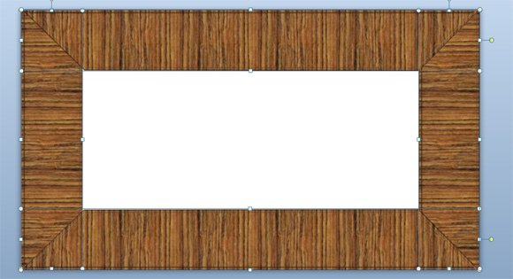 How to make a wooded frame in powerpoint 2010 toneelgroepblik Image collections