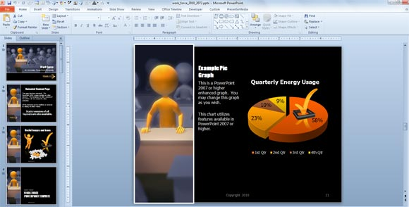 office 2007 powerpoint themes