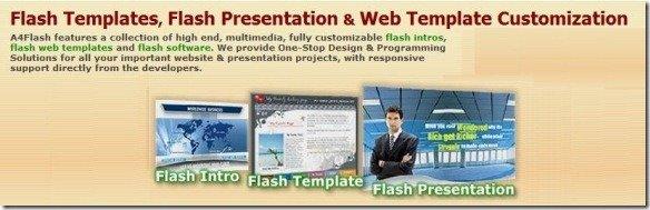 A4Flash - flash templates