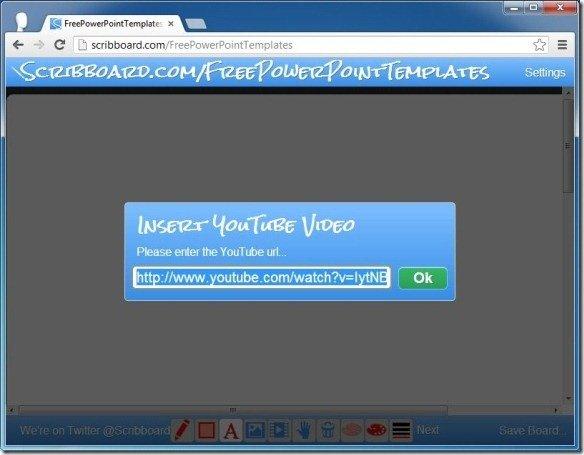 Add YouTube Video