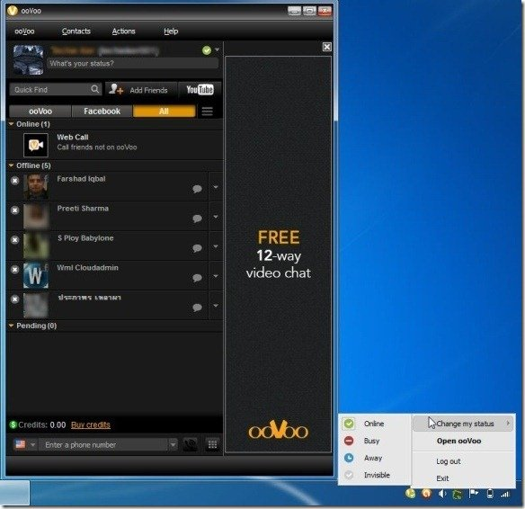 Chat With ooVoo