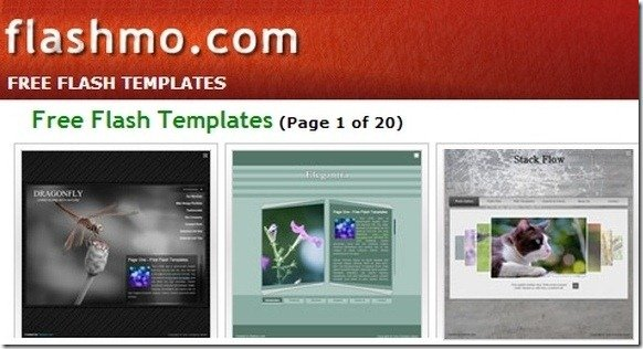 download free flash templates at flashmo, Presentation templates