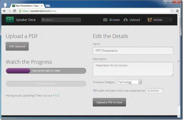 Rendering PDF