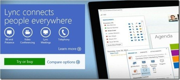 Video Conferencing  With Lync