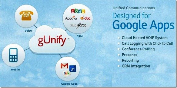gUnify The Cloud Based Unified Communication System for Google Apps