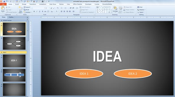 how to change slides in powerpoint using mobile