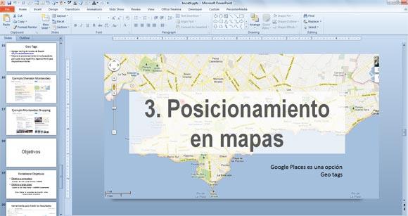 Organizing a Presentation