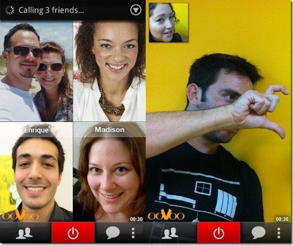 ooVoo Conference Calls