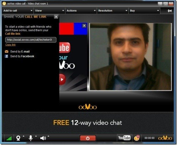 Online video chat room android