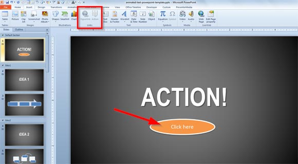 Open a Program during a PowerPoint Presentation