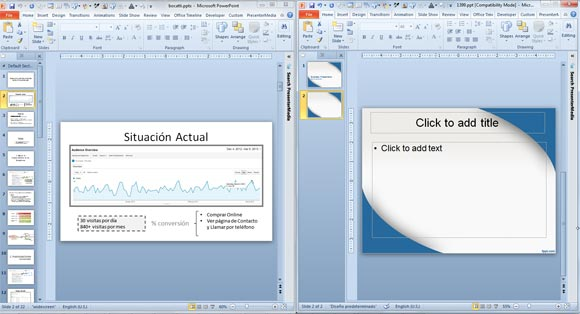 Applying a template to powerpoint presentation how to apply themes to your slide masters in powerpoint 2007 toneelgroepblik Image collections
