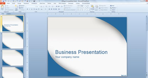 designing presentation for job interview