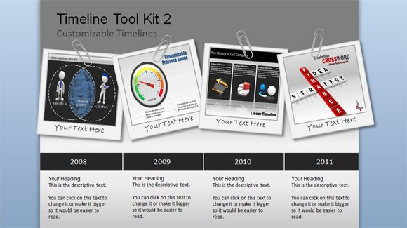 Awesome timeline charts template for powerpoint presentations toneelgroepblik Image collections