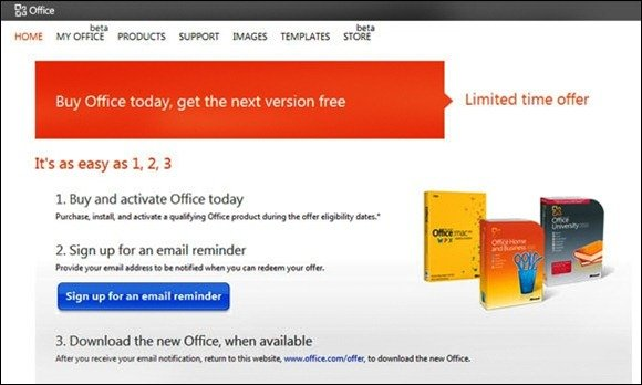 Apply For A Microsoft Word Free Upgrade