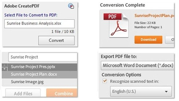 how to add an adobe document to powerpoint