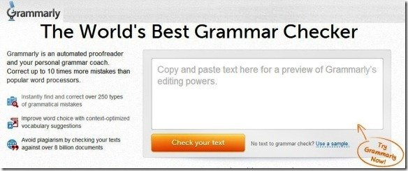 Check Grammar And Spelling Mistakes With Grammarly