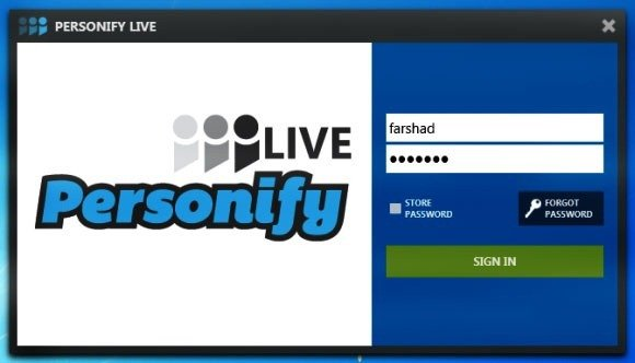 Personify Live App