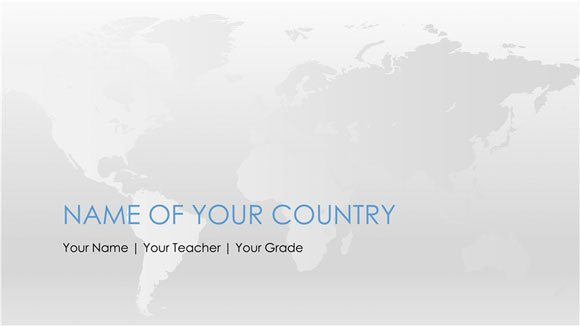 free worldmap powerpoint template, Powerpoint templates