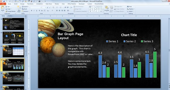 Animated solar system powerpoint template for science astronomy there are some slide layouts prepared to be used with powerpoint graphics symbols and other powerpoint charts and illustrations toneelgroepblik Image collections