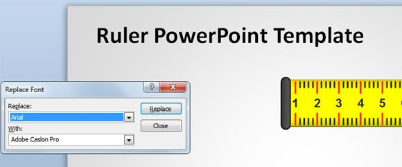 how to replace font in powerpoint 2010, Modern powerpoint