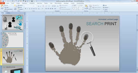 Crime scene investigation powerpoint quantumgaming awesome identity recognition cybercrime powerpoint template powerpoint templates toneelgroepblik Images