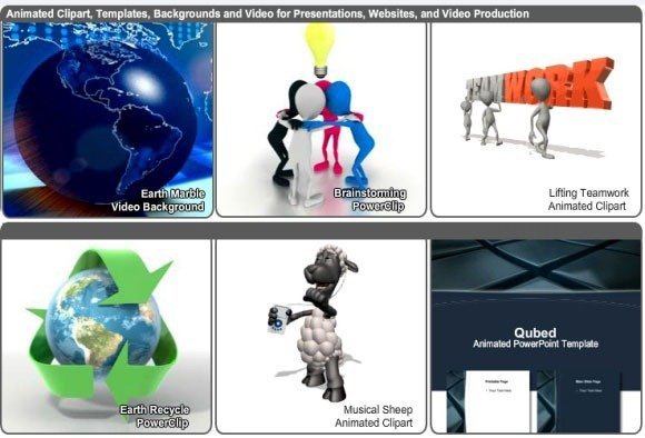 download animated powerpoint templates and clipart at animation, Modern powerpoint