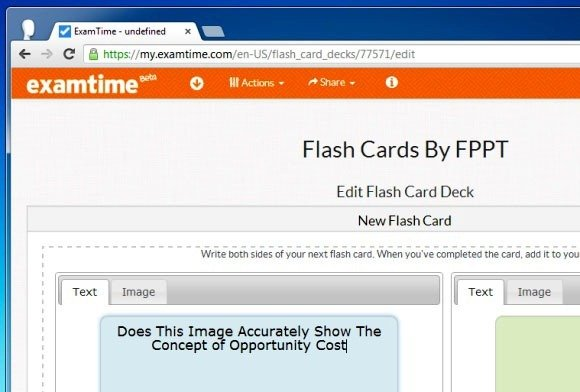 Create Flashcards