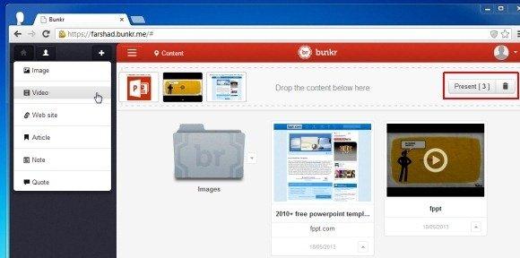 Create Online Presentations