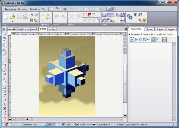 Creative Docs Vector Graphics Tool