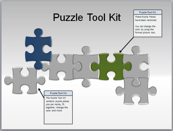 Customizable Puzzle Pieces