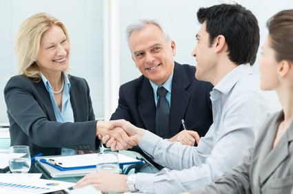 Business Handshake to Seal a Deal