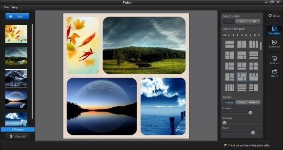 Fotor Application for Windows