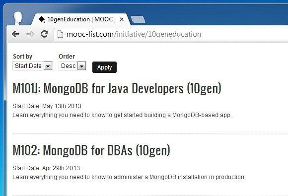 Free MongoDB Course