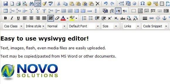 Novo Editor