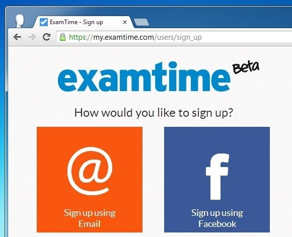 Sign up For Exam Time