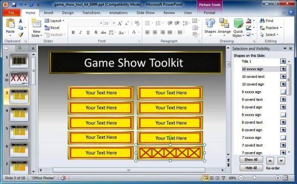 game show toolkit for powerpoint presentations