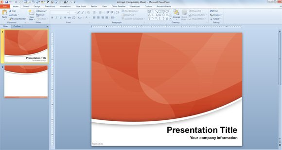 How To Choose A Powerpoint Template For Presentations