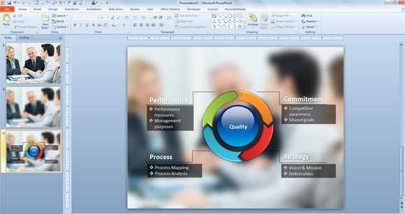 Creative Method To Embed Diagrams Over Photos In PowerPoint - How to make an amazing powerpoint presentation