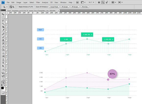 create awesome charts for your business presentations using free