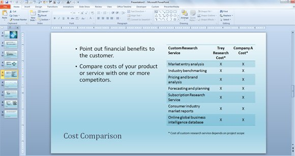 free business sales template for powerpoint presentations, Presentation templates