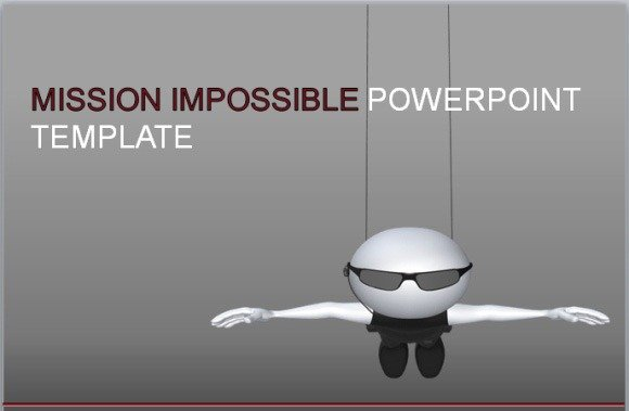 Mission impossible animated powerpoint template display custom text with the mission impossible animation this powerpoint template toneelgroepblik Choice Image